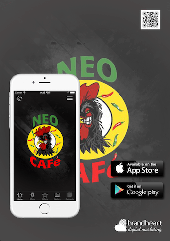 mobile app download poster